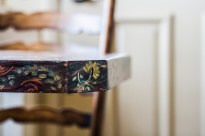 Of hand painted tables.